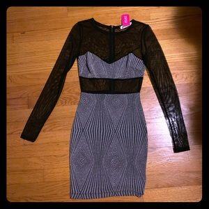 Agaci Dress, Glitter/ Mesh Dress. Size Small